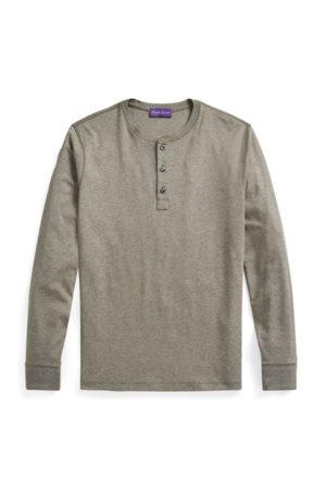 Ralph Lauren Uomo T-shirt - Maglietta serafino in Interlock