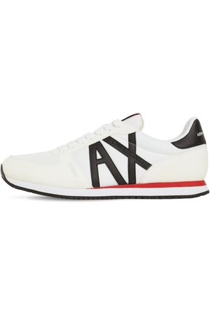 Armani Sneakers In Techno Con Logo