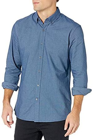 Goodthreads Regular-Fit Long-Sleeve Solid Oxford Shirt Camicia, , X-Small