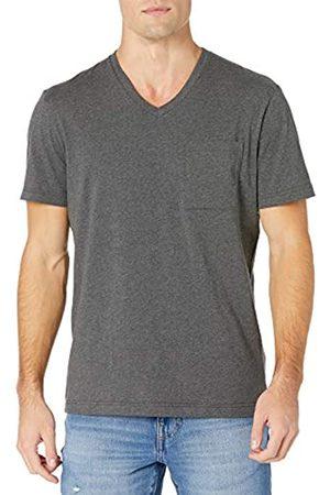Goodthreads The Perfect V-Neck Maglietta Manica Corta Cotone Novelty-t-Shirts, Antracite Melange, US XXL
