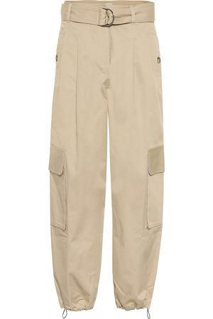 Lee Mathews Pantaloni cargo Hutton in cotone