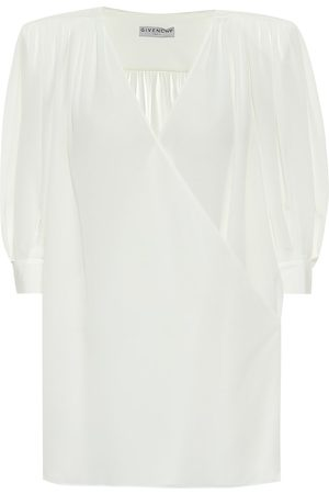 Givenchy Blusa in crêpe de chine
