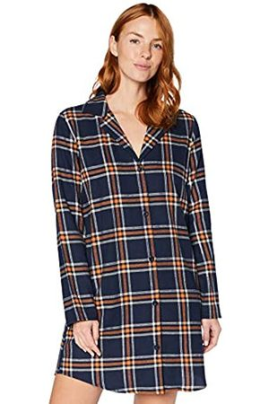 IRIS & LILLY Marchio Amazon - Flannel Check, Top pigiama Donna, , XL, Label: XL