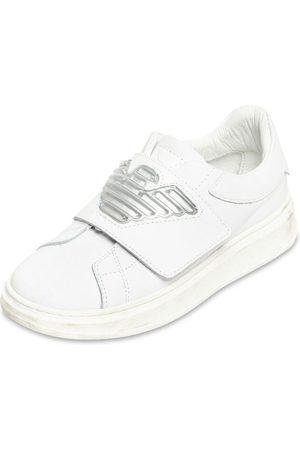 EMPORIO ARMANI Sneakers In Pelle
