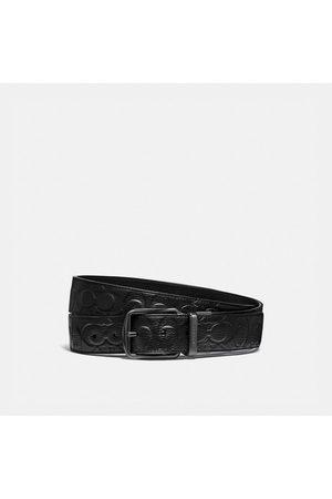 Coach Cintura sartoriale double face Harness con fibbia, 38 mm - Size 42
