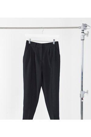 ASOS ASOS DESIGN Petite - Pantaloni affusolati sartoriali eleganti neri
