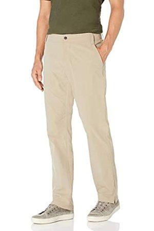 Amazon Straight-Fit Hybrid Tech Pant Pants, Khaki Chiaro, 36W x 29L