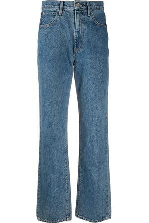 SLVRLAKE Donna Jeans a vita alta - Jeans dritti a vita alta
