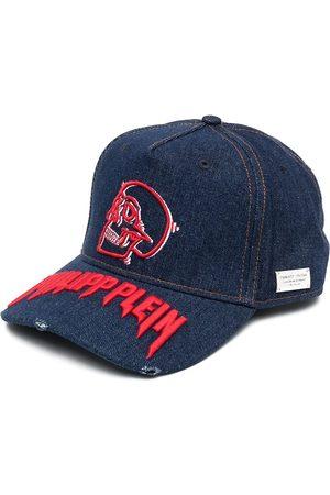 Philipp Plein Cappello da baseball con ricamo