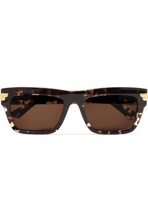 Bottega Veneta Square-Frame Acetate Sunglasses