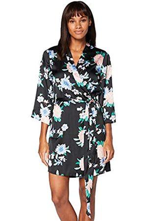 IRIS & LILLY Accappatoio a Kimono in Cotone Donna, ., L, Label: L