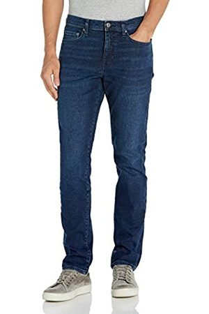 Goodthreads Comfort Stretch Slim-Fit Jean Jeans, Medium Blue Broken-in, 40W x 30L