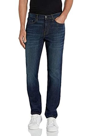 Goodthreads Comfort Stretch Slim-Fit Jean Jeans, Dark Blue Vintage, 36W x 32L