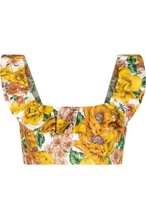 ZIMMERMANN Top Poppy a stampa floreale