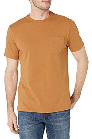 Goodthreads Uomo Polo - Heavyweight Oversized Short-Sleeve Crewneck T-Shirt Novelty-t-Shirts, Chiaro, XXL