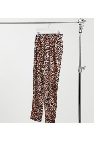 Yours Joggers con stampa animalier