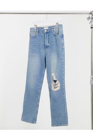 ASOS Jeans dad con strappi sul ginocchio lavaggio medio vintage stile anni '90