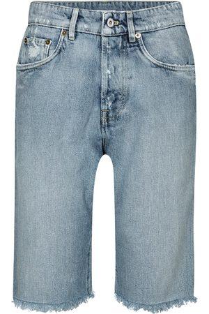 Miu Miu Donna Pantaloncini - Shorts di jeans a vita alta