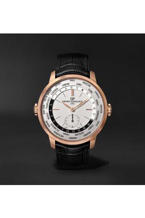 Girard Perregaux Uomo Orologi - 1966 WW.TC Automatic 40mm 18-Karat Rose Gold and Alligator Watch, Ref. No. 49557-52-131-BB6C