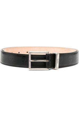 Alexander McQueen Cintura con fibbia quadrata
