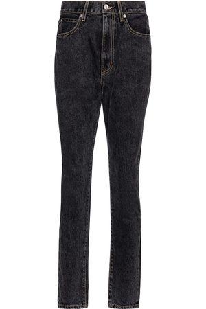 SLVRLAKE Jeans slim Beatnik a vita alta