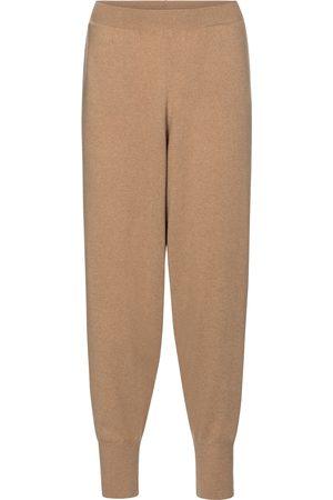 Stella McCartney Pantaloni in cashmere e lana