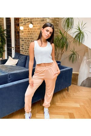Missguided Joggers basic color cammello-Cuoio