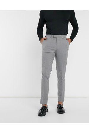ASOS Pantaloni eleganti skinny grigi