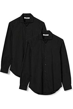 HIKARO HIK0024AM Camicie Formali/Commerciali, , 46, Pacco da 2