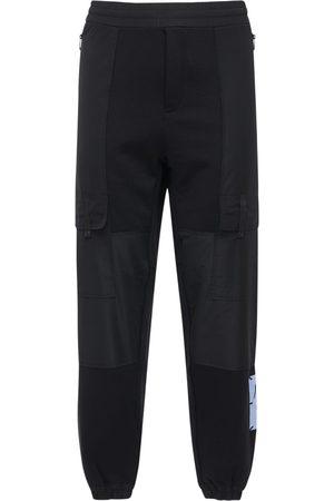 McQ Pantaloni In Felpa Di Misto Cotone Con Logo