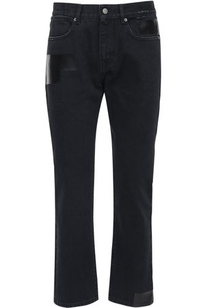 "McQ Jeans Slim Fit ""foam"" In Denim Di Cotone"