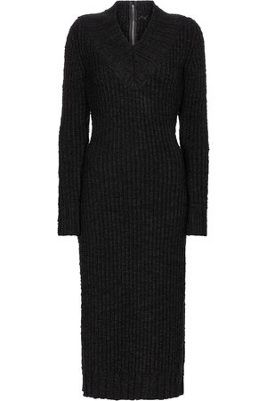 Dolce & Gabbana Abito midi in maglia di lana