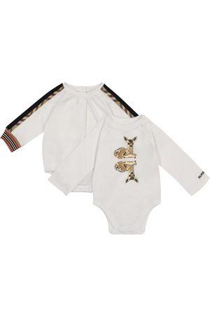 Burberry Baby - Set di 2 body in cotone