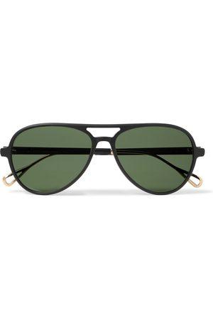 MOSCOT Aviator-Style Acetate and Gold-Tone Sunglasses