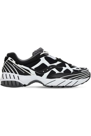 """Saucony Sneakers """"white Mountaineering Grid Web"""""""