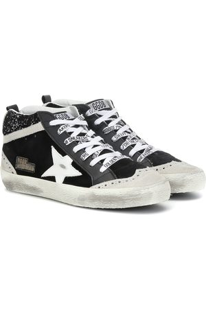 Golden Goose Sneakers Mid Star in suede e pelle