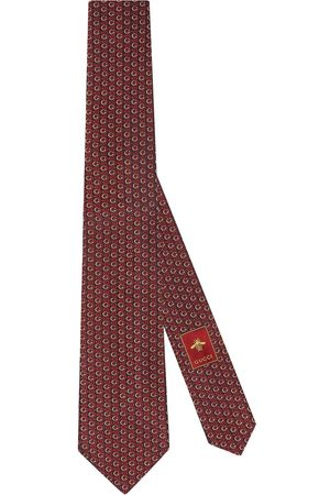 Gucci Cravatta Interlocking G con morsetto