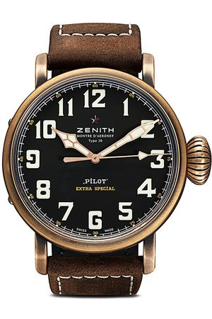 Zenith Orologio Pilot Type 20 Extra Special 45mm - C753 Black B Brown Oily