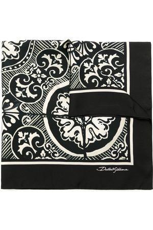 Dolce & Gabbana Uomo Sciarpe - Foulard con stampa