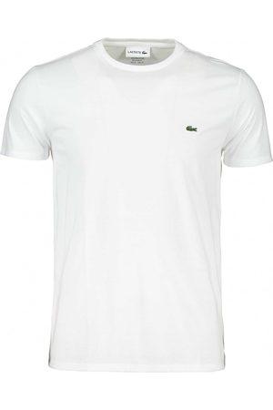 Lacoste Uomo T-shirt - T-shirt girocollo basica bianca