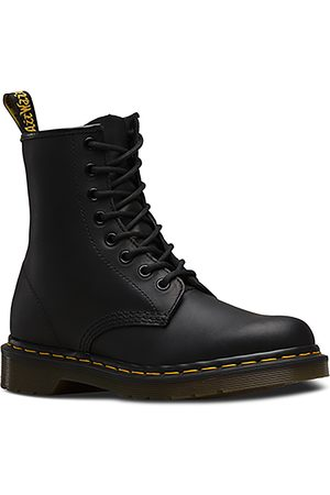 Dr. Martens ANFIBI 1460 GREASY NERI
