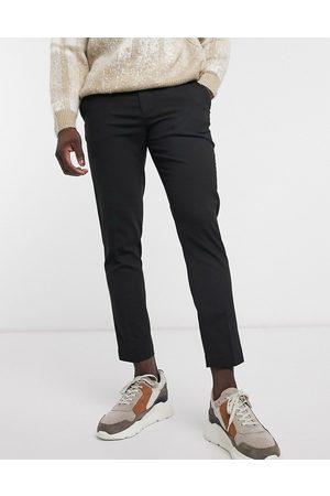 ASOS Pantaloni eleganti skinny cropped neri