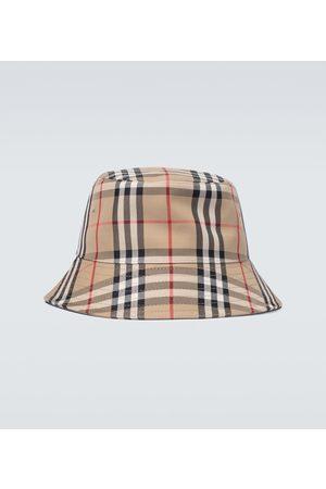Burberry Cappello da pescatore Vintage check