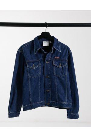 Calvin Klein Donna Giacche di jeans - EST 1978 - Giacca trucker in denim lavaggio scuro