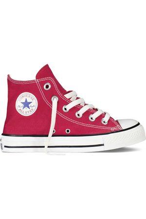 Converse All Star hi canvas rosse bambino