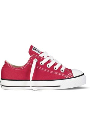 Converse All Star Ox canvas rosse bambino