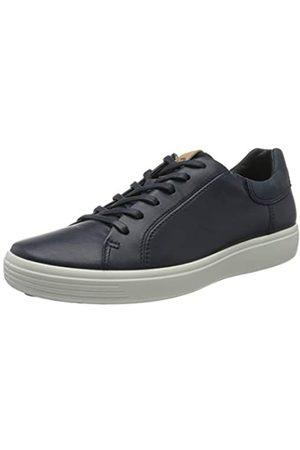 Ecco SOFT7M, Sneaker Uomo, Blu , 47 EU
