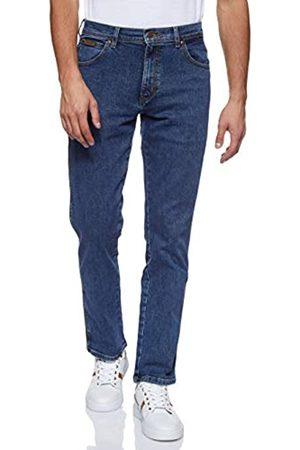 Wrangler Texas Contrast, Jeans con la Gamba Dritta, Uomo, Blu , 44W / 32L