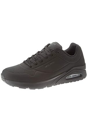 Skechers UNO Stand ON Air, Sneaker Uomo, Black Durabuck/Trim BBK, 42 EU