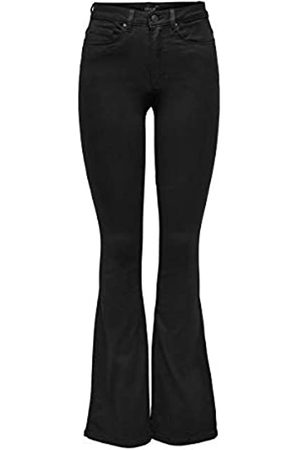 Only Onlroyal High Sweet Flared 600 Jeans, , 25W / 30L Donna